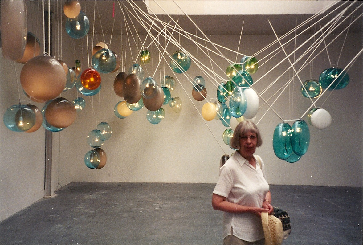 Maureen at the Biennale